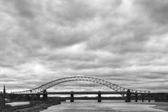Silver Jubilee Bridge (Stephen Whttaker) Tags: bridge cloud white black island mono blackwhite nikon pov hdr runcorn widnes wigg d5100 whitto27