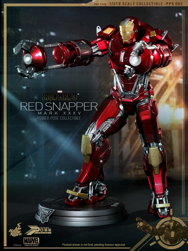 Hot Toys -  PPS系列鋼鐵人3:Red Snapper