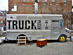 Truck Pizza (Paul Anthony Moore) Tags: newyork pizza upstatenewyork husdon pizzatruck truckpizza