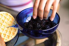 beautiful morning (soyboy7) Tags: morning friends fruit pancakes breakfast table hand thankyou fingers bowl blackberries whodoesntneedabeautifulmorningsharingasemihealthymealwithfriendswhilelisteningtojourneyandlaughingatthesoundofourownvoices wealldosometimes irealizedthatnomatterwhatiwillalwaysbeemoiwillalwaysfeelthingsdeeplyandyouknowwhatthatsokay blessyoufather