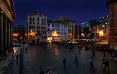 ...a different point of view... (sermatimati) Tags: rome roma nikon tramonto luci palo atmosfera notte sera magia blù differentpointofview sermatimati