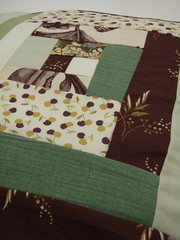 Easy Patchwork workshop at Ruth Singer Studio (ruthsinger) Tags: freestyle logcabin patchwork improvised