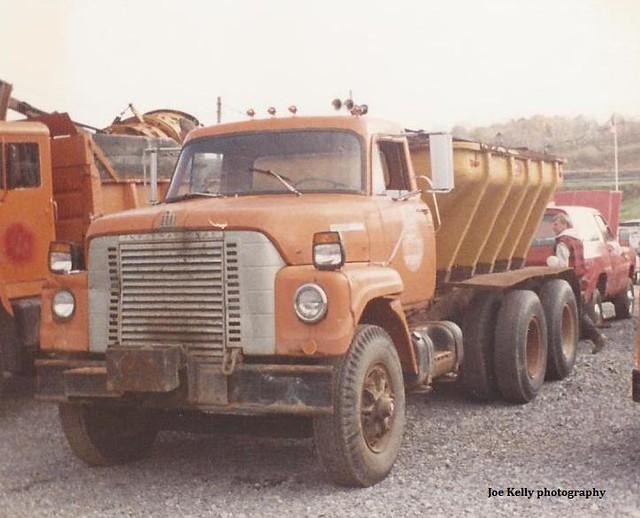 international fleetstar 2050a dv550b clay ny town highway department government municipal sander truck