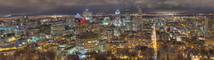 Montreal Panorama (Nicolas Doak) Tags: panorama canada canon 50mm montreal hdr photostitch photomatix tonemapped tonemapping 18ii t2i