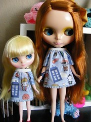Ailis and Janet <3 Doctor Who