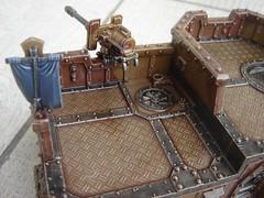 Wall of Martyrs - Imperial Bunker 07 (marlboro.manteam) Tags: tank space flag marlboro warhammer ultramarine ultra command ivrea 40000 wh40k spacemarine macragge
