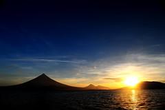 Good Bye Mayon! (eda_abrenica) Tags: sunset mayonvolcano bicoltrip nikond700 nikkor2470 kenkoverniercpl