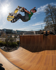 Pontus Bjrn (KelsaaCPH) Tags: vertical skateboarding skatepark contrejour dorkstar dcshoes flledparken faelledparken kels boneswheels seventreeskateboards