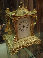 """WATERBURY CARRIAGE REPEATER CLOCK • <a style=""""font-size:0.8em;"""" href=""""http://www.flickr.com/photos/51721355@N02/8702669942/"""" target=""""_blank"""">View on Flickr</a>"""