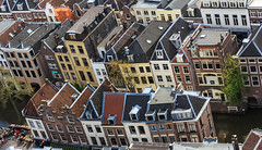 Utrecht City, the Netherlands (Maria_Globetrotter) Tags: from above travel houses panorama holland tourism netherlands architecture canon buildings toy spring europe day view over perspective nederland landmark visit aerial clear planet prinsengracht lonely iconic paysbas pases overview  arkitektur leliegracht holand vr lightroom bajos nederlnderna 650d 1585 landmrke  leliesluis mariaglobetrotter