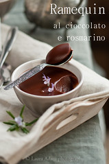 crema di cioccolato (Laura Adani) Tags: stilllife recipe dessert chocolate nobody indoors rosemary photofood chocolatepuddingwithcoconutmilk