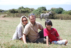 Family in the wild (paulinep76) Tags: tanzania marcus ngorongoro pauline oli zebras