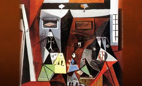 """Meninas, iconósfera de Diego Velazquez (1656), estudio de Francisco de Goya y Lucientes (1778), paráfrasis y versiones Pablo Picasso (1957). • <a style=""""font-size:0.8em;"""" href=""""http://www.flickr.com/photos/30735181@N00/8746859599/"""" target=""""_blank"""">View on Flickr</a>"""