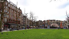 Rembrandt Square, Amsterdam, the Netherlands (Luke,Ma) Tags: city holland netherlands dutch amsterdam digital square four lumix power g capital north nederland kingdom olympus x m panasonic f micro 28 rembrandt asph f28 43 omd zuid noordholland thirds noord rembrandtplein gx ois 1235 vario  m43   em5 flickraward  1235mm flickrtravelaward 1235mmf28 hhs12035 hs12035