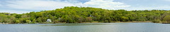 CSHL: Across the Water (Falcdragon) Tags: panorama usa newyork water sony hugin coldspringharbor cshl photoninja