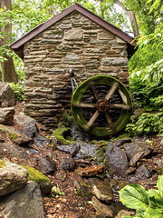 Water Mill at the Grange Estate (santoplacido) Tags: landscape historic pa watermill haverford havertown grangeestate blinkagain
