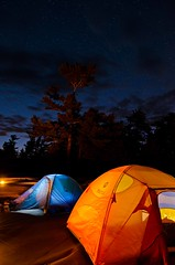 Tents and Stars