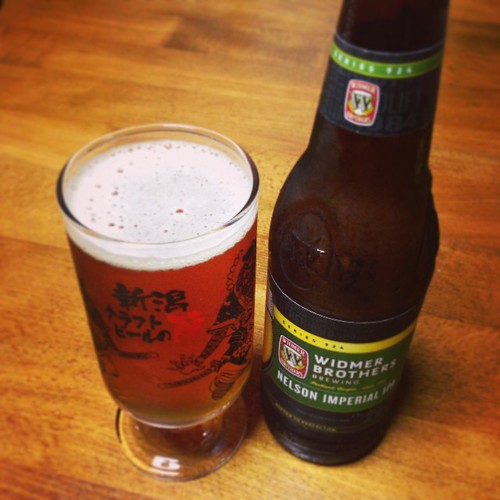 WIDMER BROTHERS NELSON IMPERIAL IPA。爽やか!苦味より爽やかさがくるね!