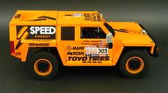 05 (LegoMarat) Tags: lego rally technic dakar raid hummer pf modelteam moc powerfunctions