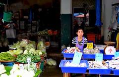 Chiang Mai Thailand (Ashit Desai) Tags: blue sky people sculpture food statue festival thailand gold terracotta buddha culture monk parade celebration mai thai lanterns lantern figurine wat chiang ping buddism yi lanna loy yee loi desai 2014 krathong ashit