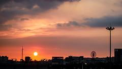 Sunset.らくじつ (無聊鬼) Tags: gx8 panasonic leicadg15mmf17 夕陽 sunset
