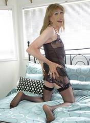 Aug 2016 (41) (Rachel Carmina) Tags: cd tv tg trap tgirl trans femboi lingerie nylons legs sexy