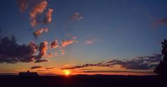 2016_0827Sunset-Pano0004 (maineman152 (Lou)) Tags: panorama sun sunset settingsun clouds cloudsatsunset sunsetclouds sky skycolor skycolors skyscape skyscene skyview skydrama summersky nature naturephoto naturephotography landscape landscapephoto landscapephotography summer august maine
