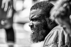 2016 Faces of Training Camp-210 (Mather-Photo) Tags: 2016 andrewmather andrewmatherphotography blackandwhite chiefs chiefskingdom chiefstrainingcamp closeup colorless faces football helmetoff kcchiefs kansascitychiefs matherphoto monochrome nfl sportsphotography summer team trainingcamp