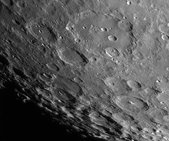 20160814-2142UT Clavius Region (Roger Hutchinson) Tags: clavius crater space astronomy astrophotography solarsystem celestron asi120mm
