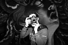 New World Photographer (Thomas Hawk) Tags: california haight haightashbury haightashburydistrict haightdistrict photowalk photowalk10212011 sanfrancisco treyratcliff usa unitedstatesofamerica bw graffiti fav10 fav25