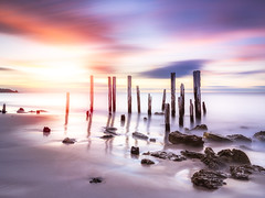 Port Willunga (Jeffrey Guan) Tags: woodlogs landscape sunset australia southaustralia seascape adelaide longexposure portwillunga dynamicrange