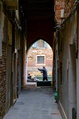 The Streets Aren't Gold (Jeremy Brooks) Tags: gondola gondolier italy veneto venezia venice camera:make=fuji camera:make=fujifilm camera:model=xpro1