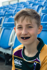 After the game (oweneduffy) Tags: james portrait rugby sport bleachers seats face boy child glasgow scotland uk sony a6000 helios helios442 58mm