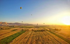 Golden Hour. ( Mo'men Saleh) Tags: thisisegypt myegypt luxor hotairballoon goldenhour magichour gopro hero4 beahero photooftheday explore neverstopexploring travel experienceegypt egypt tourism