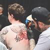Saschi McCormack - Black Lines Matter Tattoo (shaymurphy) Tags: tattoo tattoos tattooed tatu tatooed tatoos tatuajes tatuaje tatuado tätowierung tatoo tätowierten tatuagens tatuagem tattooistatwork saschi mccormack black lines matter butterfly face colour dublintattooconvention