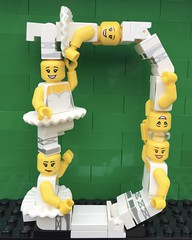 D (Laurene J.) Tags: lego bricksbythebay bbtb2016 minifigurealphabet minifigure minifigs legoalphabet alphabet pilobolusalphabet pilobolus lettering bbtb 2016 bricksofcharacter dance dancer ballet ballerina legoballerina