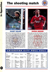 Liverpool vs Leicester City - 1996 - Page 8 (The Sky Strikers) Tags: liverpool leicester city fa carling premiership anfield review official programme one pound seventy