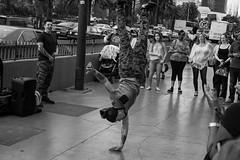 inverse (edwardpalmquist) Tags: lasvegas nevada city street urban blackandwhite monochrome outdoors crowd people man woman camouflage fashion