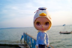 Lorelai at Balaton lake