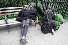 The  Forgotten           (SAM_1921) (waitingfortrain) Tags: homeless nyc manhattan poverty hardtimes