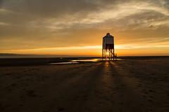 Burnham Rays (jebob) Tags: somerset lighthouse sun sunset rays light beach sand burnhamonsea evening clouds colour yellow sky uk