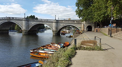 Boats for hire (Barry C. Austin) Tags: richmondlock riverthames