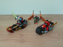 LEGO 70600 LEGO NINJAGO 2016 Ninja Bike Chase (Totobricks) Tags: lego70600 lego ninjago legoninjago 2016 ninjabikechase ninja bike chase instructions review howto build make minifigures kai nya sqiffy totobricks