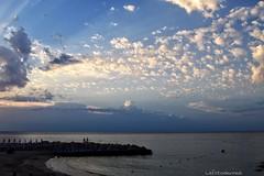 Quando il cielo racconta.... (lefotodiannae) Tags: lefotodiannae alba ligure liguria mare nuvole cielo