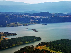 / Dospat dam, Bulgaria (R_Ivanova) Tags: nature landscape dospat dam summer sony lake water colors color coast town bulgaria rivanova      hill mountainside