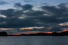 IMG_1427-1 (Andre56154) Tags: schweden sweden sverige see lake ufer wasser water wolke cloud himmel sky dmmerung dawn abend evening sonnenuntergang sunset afterglow dunkel dark dunkelheit darkness