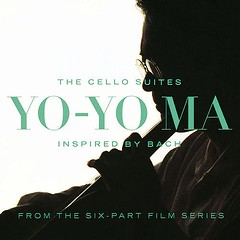 CELLOSUITESYOYOMACD (ESP1138) Tags: cello suites inspired by bach johann sebastian yoyo ma sony classical records compact disc album cover