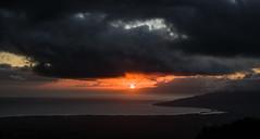 Sunset (ArneKaiser) Tags: 17578haleakalahighway hawaii landscape maui clouds panorama sky sunset weather