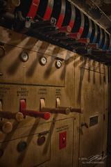 Control Freak (Linda O'Donnell) Tags: lansdownetheater abandonedamerica vintagebuilding historic njphotocrew projectionroom controls