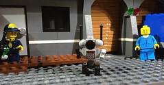 RC robot! (woodrowvillage) Tags: lego legos moc minifigure mini figure citizen brick custom robot rc remote control jumpsuit cub scout toy woodrow village films youtube